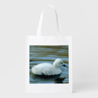 Young Black Neck Swan Tote Bag