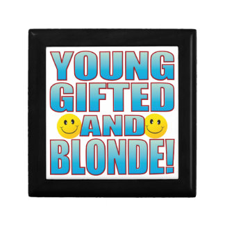 Young Blonde Life B Gift Box