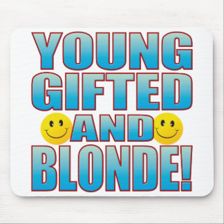 Young Blonde Life B Mouse Pad
