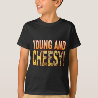 Young Blue Cheesy T-Shirt