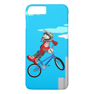 Young BMX turns upside down to a side of their iPhone 8 Plus/7 Plus Case