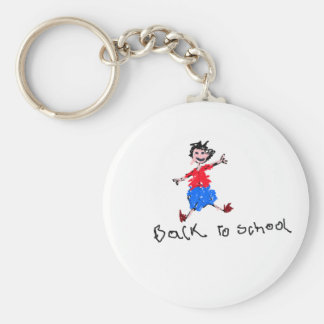 Young Boy - Back To School Keychain