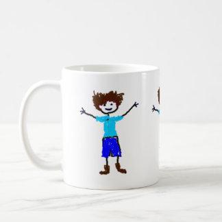 Young Boy - Child s Drawing Mugs