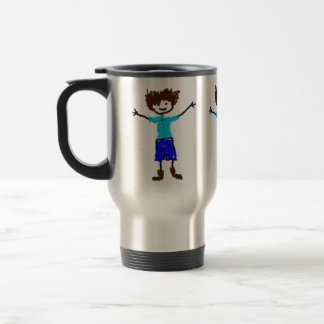 Young Boy - Child's Drawing Coffee Mugs