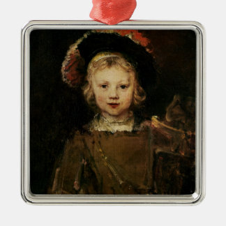Young Boy in Fancy Dress, c.1660 (oil on canvas) Christmas Ornament