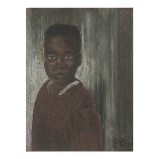 Young Boy Poster