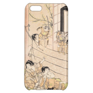 Young Boys Performing Puppet Show Kitao Shigemasa iPhone 5C Cases