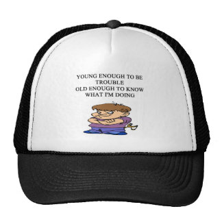 young brat son and daughter designs cap