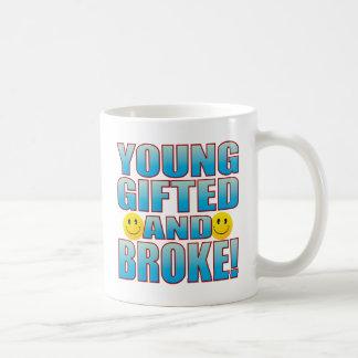 Young Broke Life B Coffee Mug