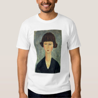 Young Brunette, 1917 (oil on canvas) T Shirts