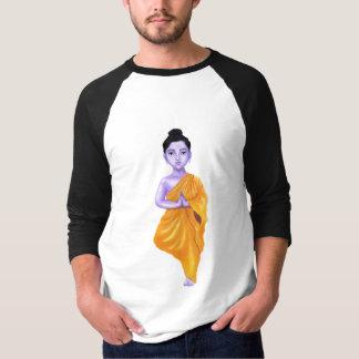 YOUNG BUDDHA IN A VRUKSHASANA(TREE) YOGA POSE T-Shirt