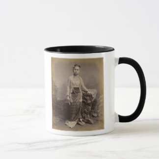 Young Burmese girl, c.1875 Mug