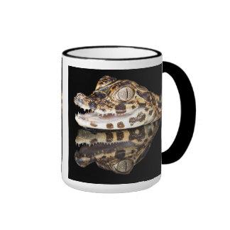 young caiman mugs