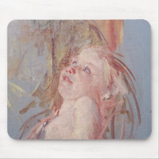 Young Child in its Mother's Arms Mouse Mat