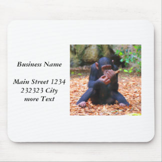 young chimpanzee 03 mouse pad