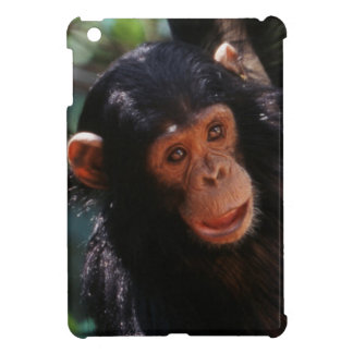 Young Chimpanzee hanging at forest iPad Mini Covers