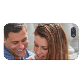 Young Couple Bridge Case For iPhone 5/5S