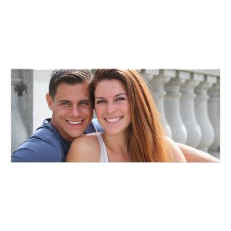 Young Couple Bridge Personalised Rack Card