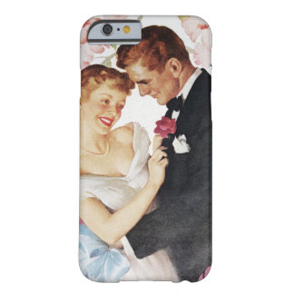 Young couple in formal wear barely there iPhone 6 case