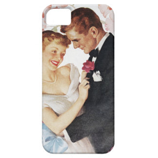 Young couple in formal wear case for the iPhone 5