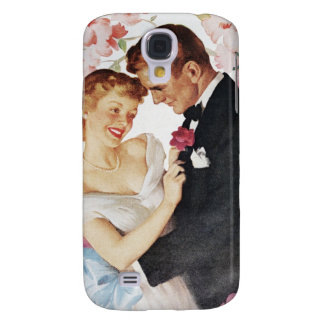 Young couple in formal wear galaxy s4 case