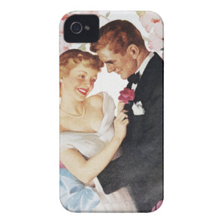 Young couple in formal wear iPhone 4 cases