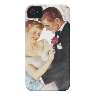 Young couple in formal wear iPhone 4 cover