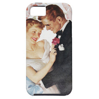 Young couple in formal wear iPhone 5 cover