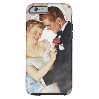 Young couple in formal wear tough iPhone 6 case