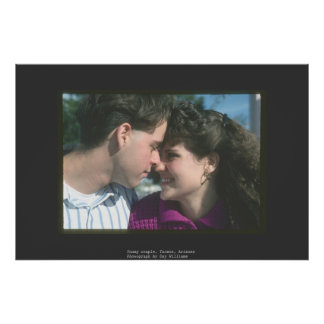 Young Couple, Tucson, Arizona Poster
