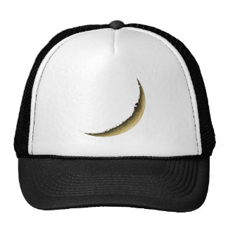 Young Crescent Moon Mesh Hat