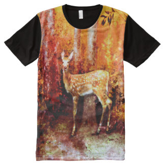 young deer All-Over print T-Shirt