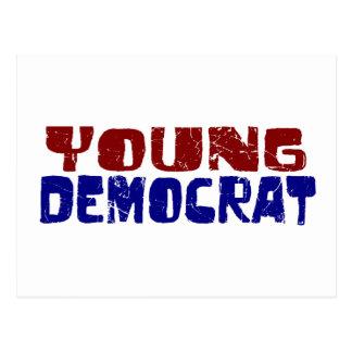 Young Democrat Postcard