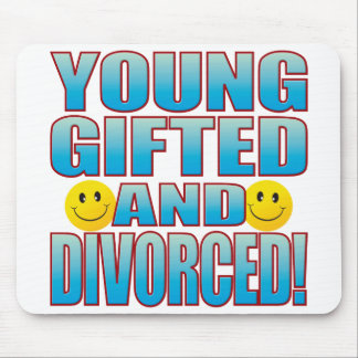Young Divorced Life B Mouse Mat