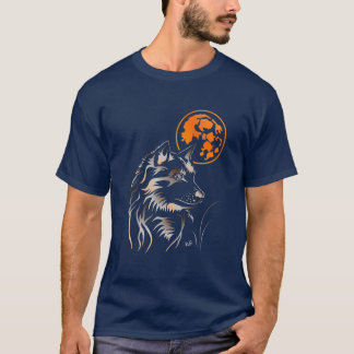 young dreaming wolf T-Shirt