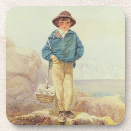 Young England - A Fisher Boy Coasters