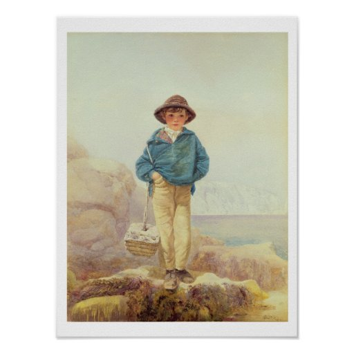 Young England - A Fisher Boy Poster