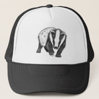 Young European Badger Trucker Hat