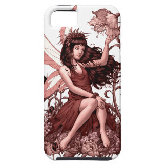 Young Fairy with Flowers by Al Rio iPhone 5 Case
