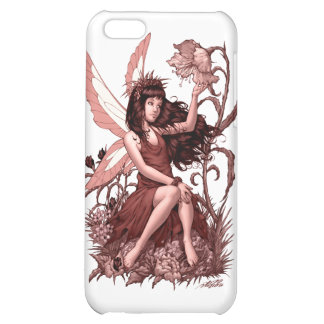 Young Fairy with Flowers illustration by Al Rio Case For iPhone 5C