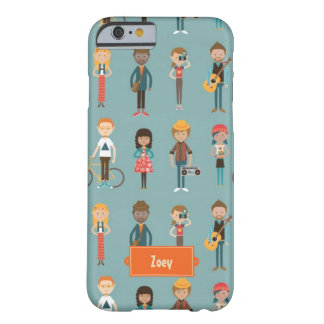 Young Folks (Ash Blue) Barely There iPhone 6 Case