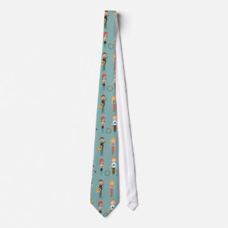 Young Folks (Ash Blue) Tie