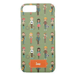 Young Folks (Seafoam Green) iPhone 7 Case