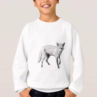 Young Fox Sketch Sweatshirt