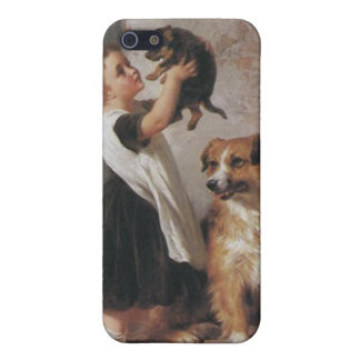 Young Friends 1876 - George Augustus Holmes iPhone 5 Cover