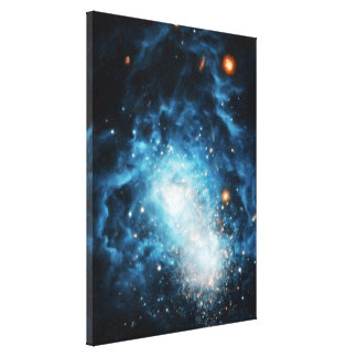 Young Galaxy Canvas Prints