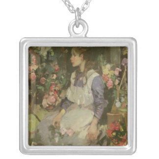 Young Gardener Silver Plated Necklace