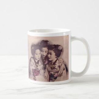 Young Geisha girls Coffee Mug