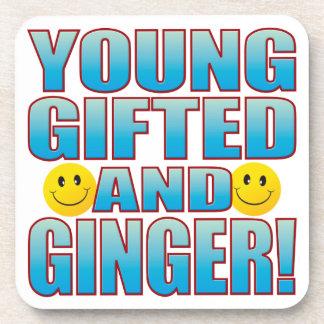 Young Ginger Life B Coaster