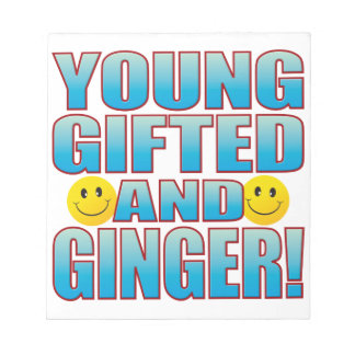 Young Ginger Life B Notepad